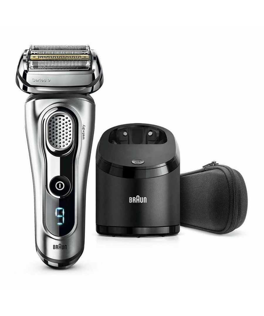 Image for Braun Series9 9292cc Men's Electric Shaver with Clean/Charge Stand & Travel Case