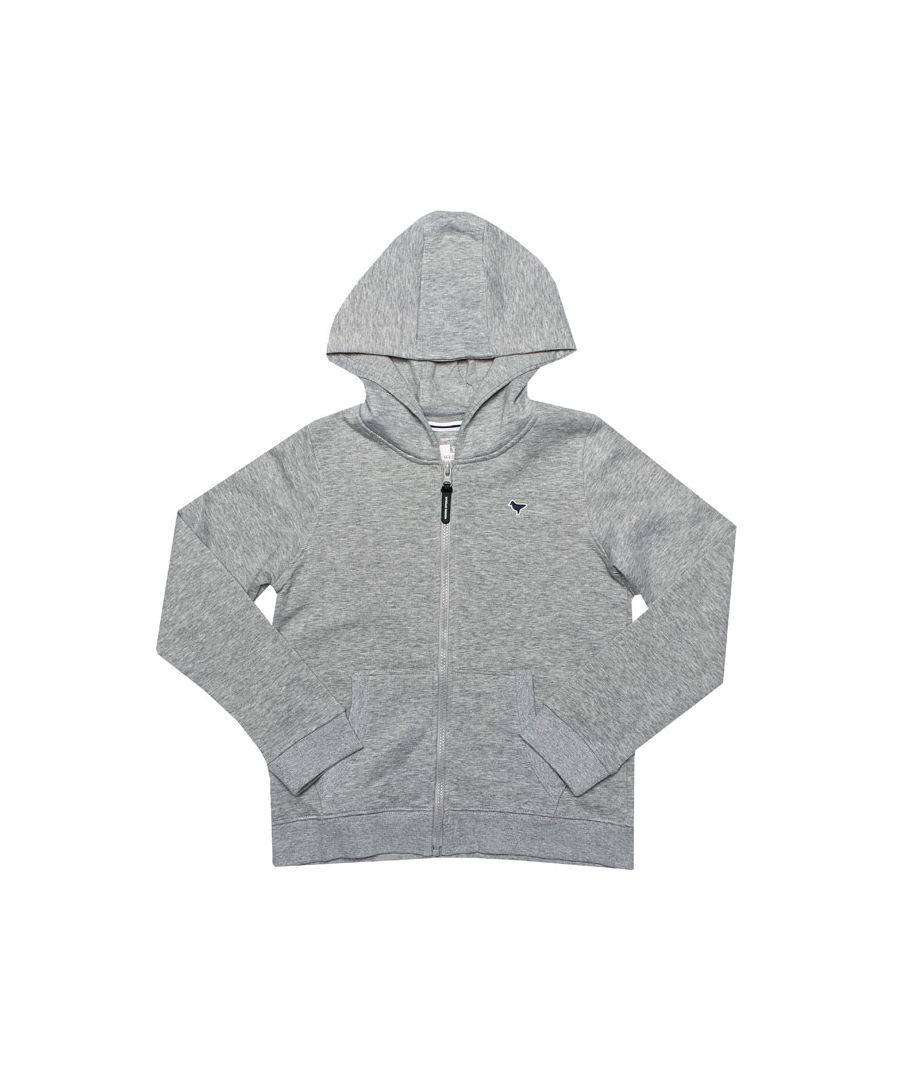 Image for Boy's Weekend Offender Junior Dove Hoody in Grey Marl