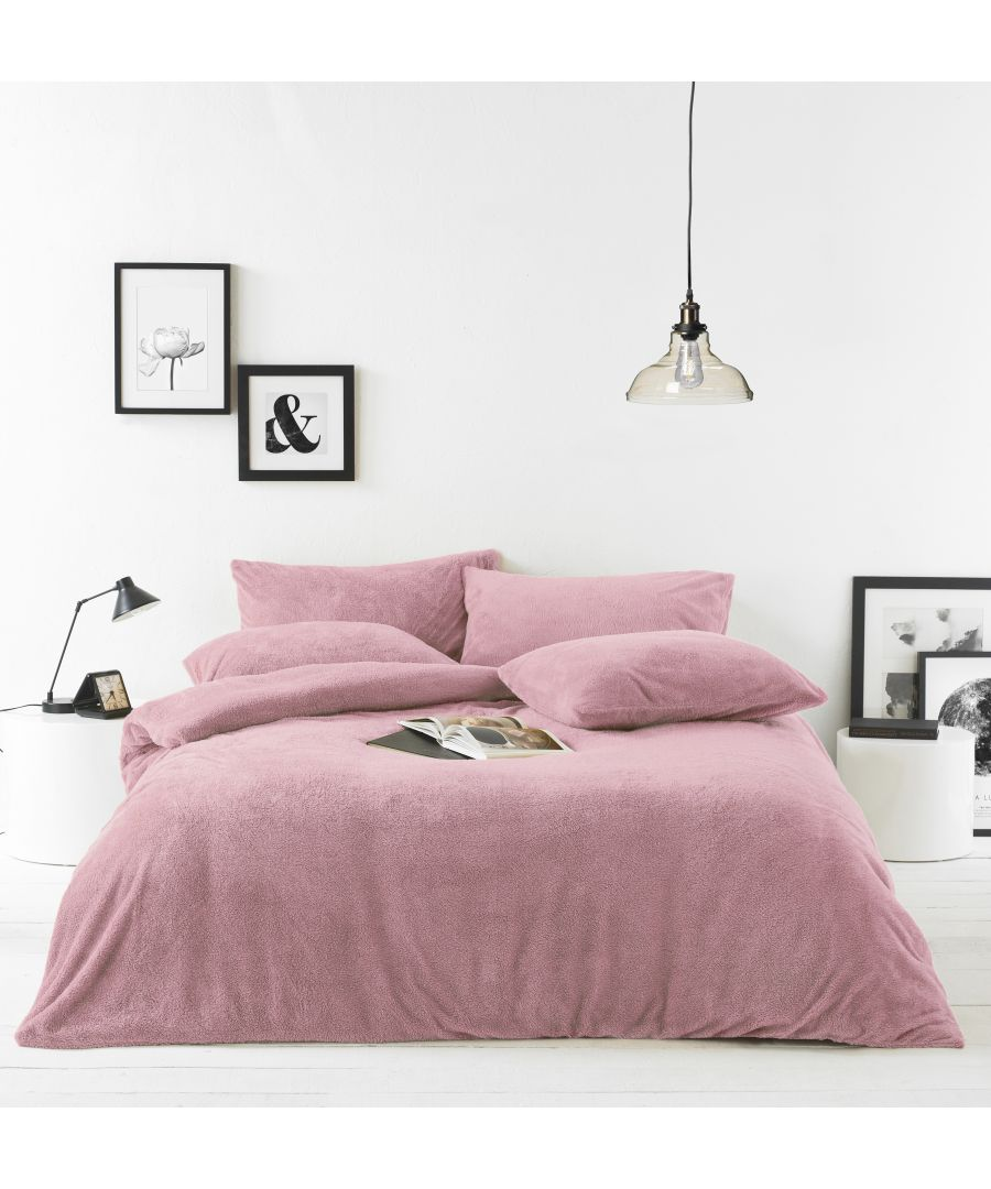 Image for Sherpa Duvet Set Blush