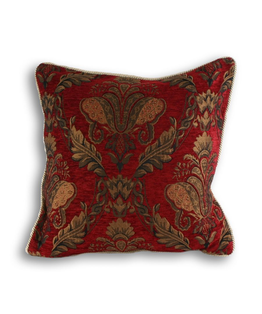 Image for Shiraz Poly Cushion 45X45 Burg