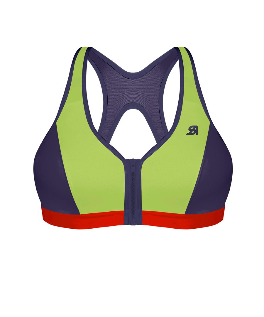 Image for Active Zipped Medium Impact Sports Bra