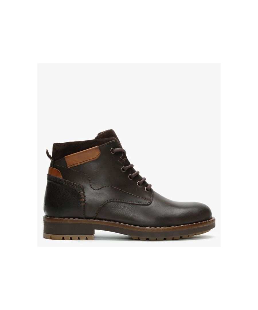 Image for Daniel Shukka Nubuck Leather Ankle Boots