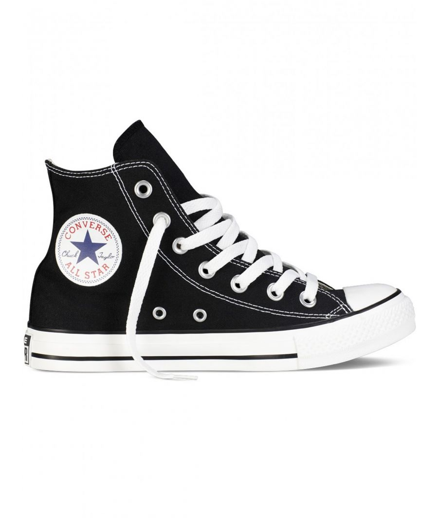 Image for Converse All Star Unisex Chuck Taylor High Tops - Black/White
