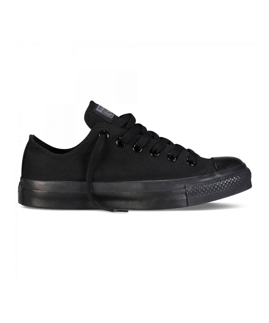 Image for Converse All Star Unisex Chuck Taylor Low Top - Black Monochrome