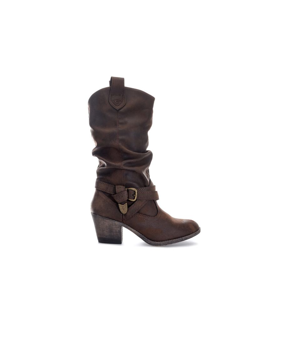 Image for Women's Rocket Dog Sidestep Graham Boots in Chocolate