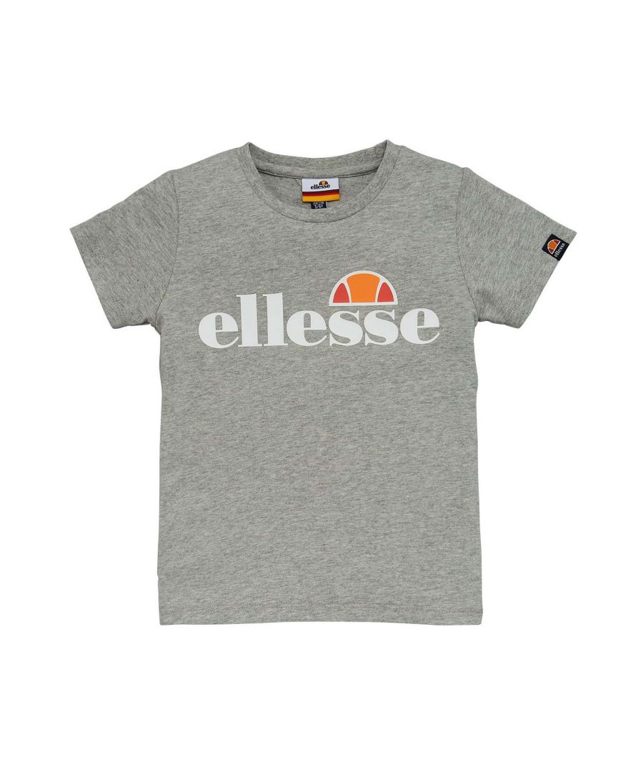 Image for Ellesse Malia Junior T-Shirt Grey - 3-4 Years