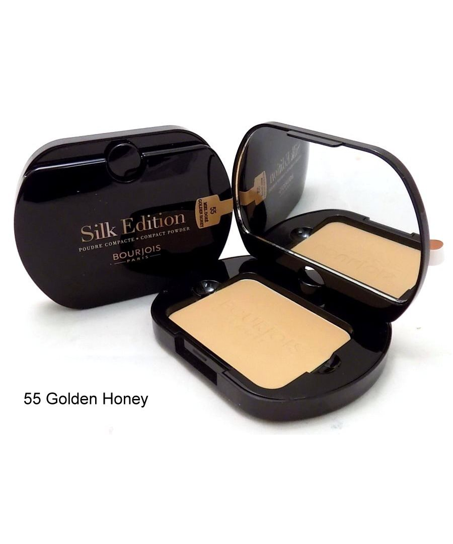 Image for Bourjois Paris Silk Edition Compact Powder 9g - 55 Golden Honey
