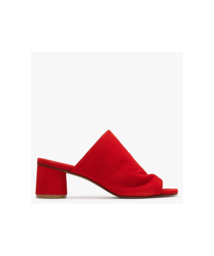 Image for Daniel Silvia Suede Slouchy Mules