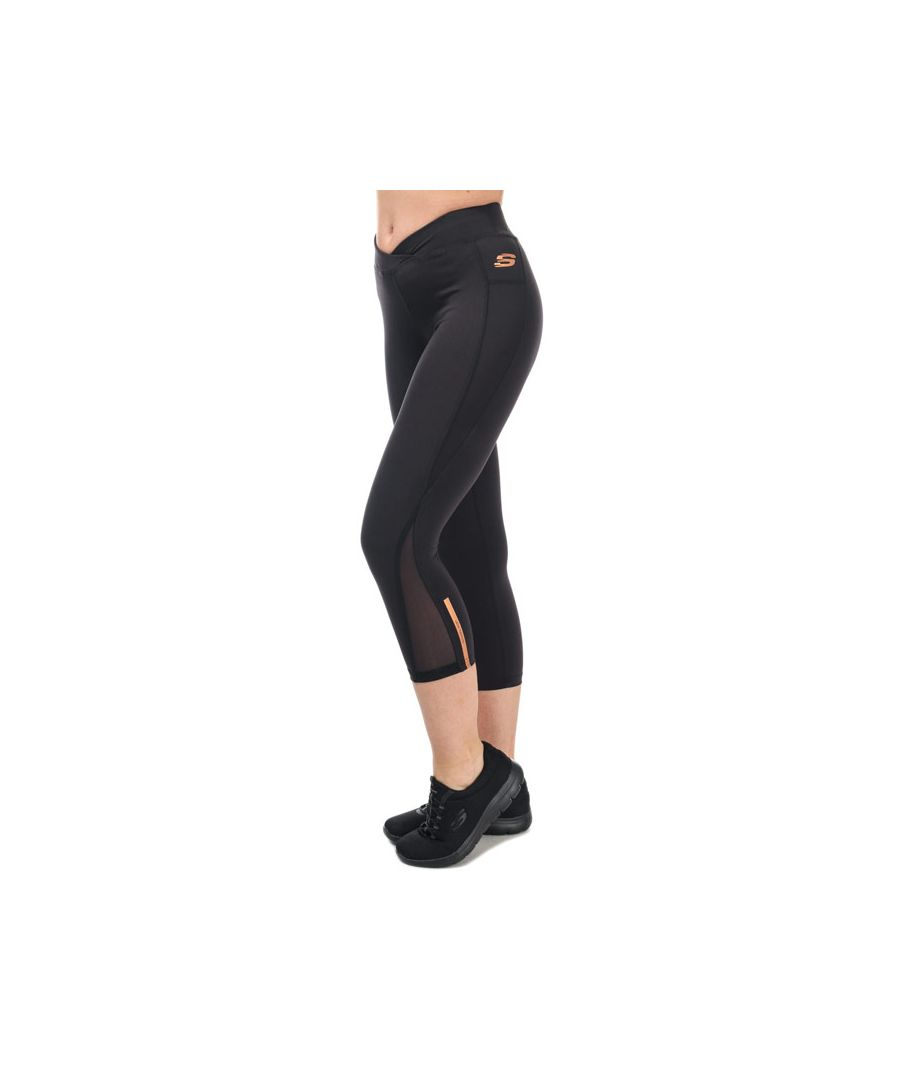 Image for Women's Skechers Emerson Crop Tights in Black