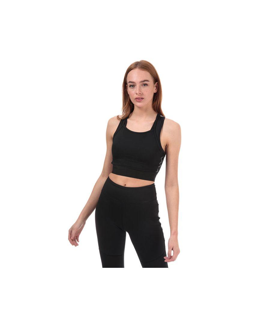 Image for Women's Skechers Alana Mesh Sports Bra in Black