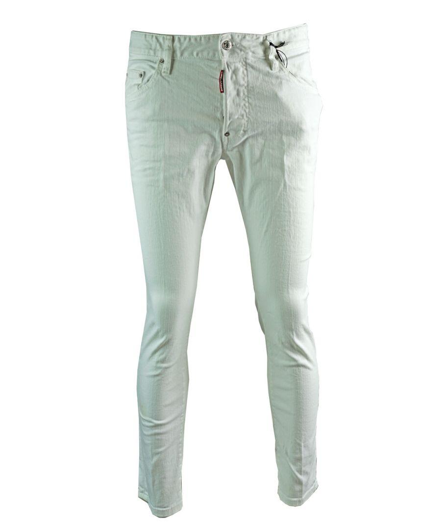 Image for Dsquared2 Skater Jean White Skinny Jeans
