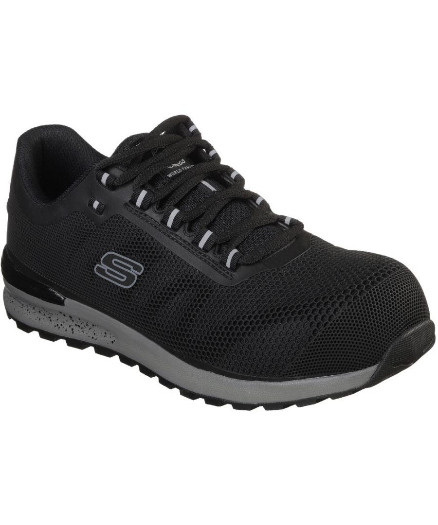 Image for Skechers Mens Bulklin Durable Lightweight Lace Up Trainers