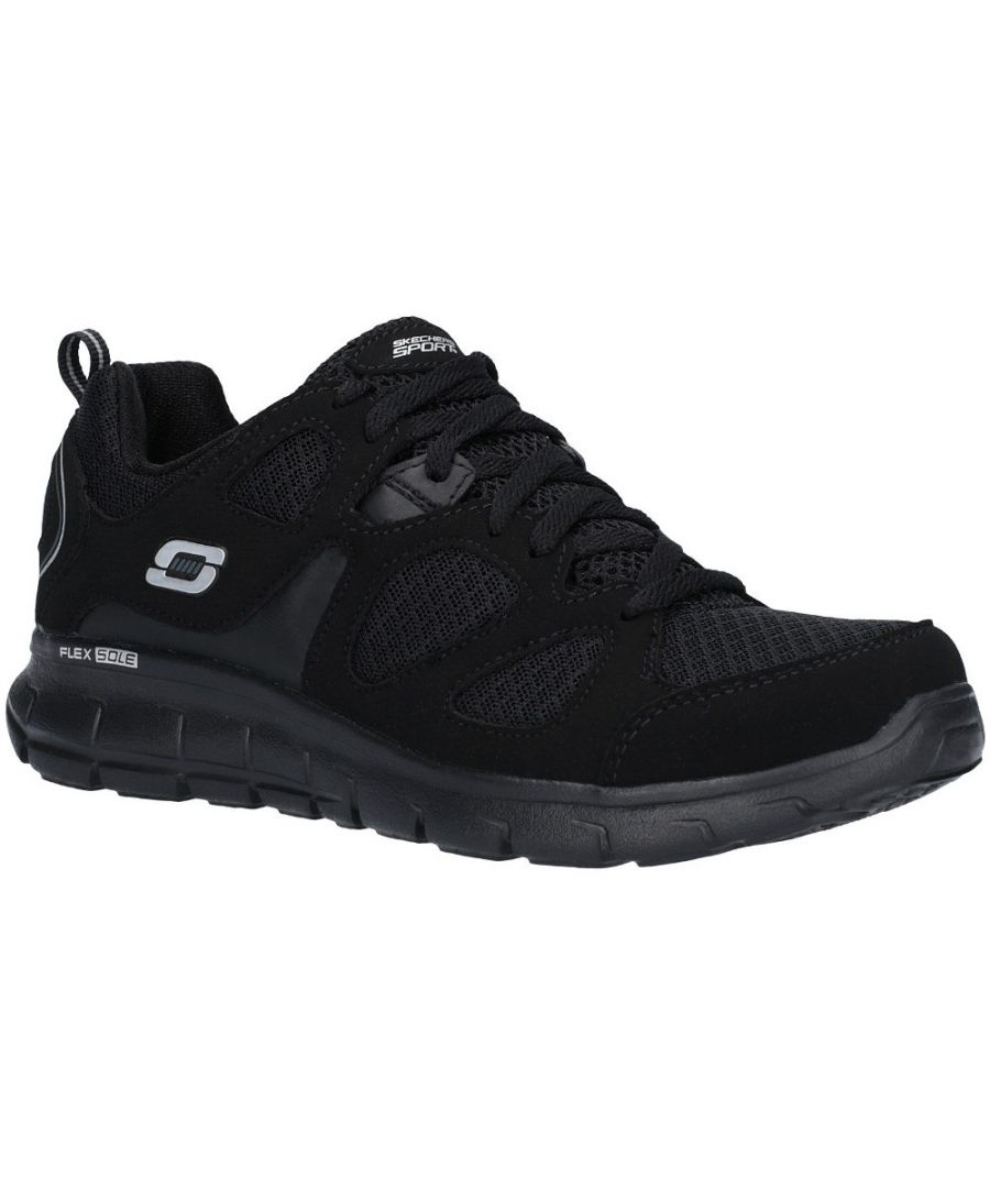 Image for Skechers Boys Vim Turbo Ride Lace Up Athletic Sport Trainers