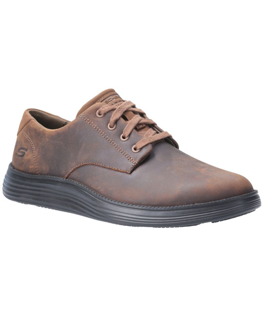 Image for Skechers Mens Status 2.0-Arleno Low Profile Oxford Shoes