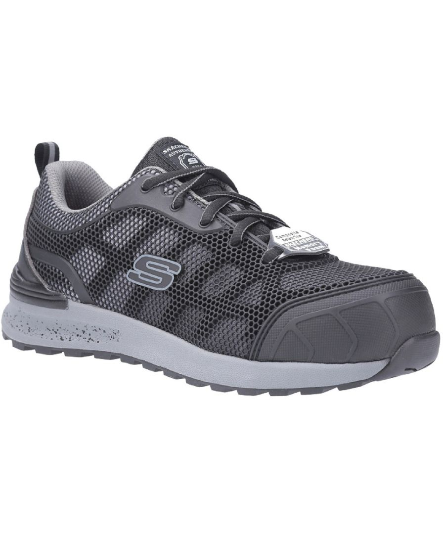 Image for Skechers Womens Bulken-Lyndale Lace Up Athletic Safety Shoes