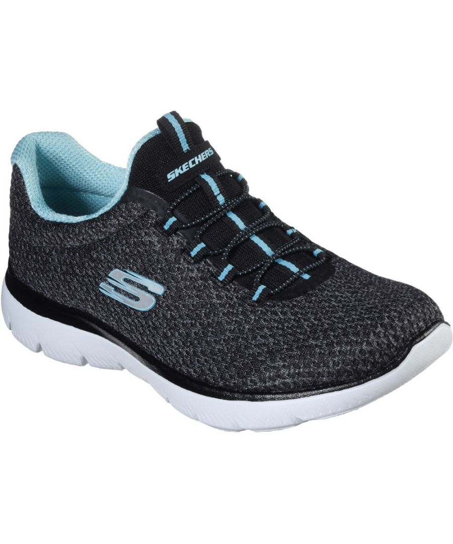 Image for Skechers Womens Summits-Striding Slip On Trainers Shoes