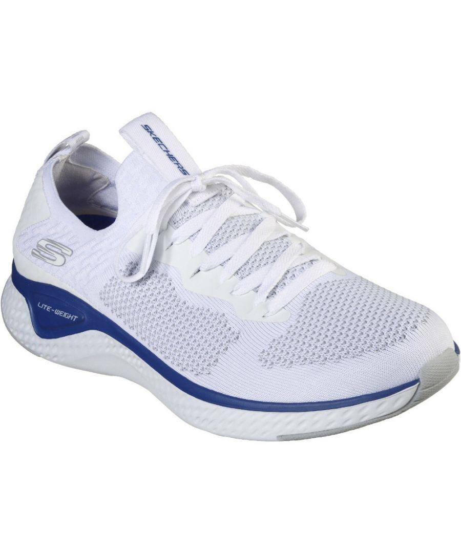 Image for Skechers Mens Solar Fuse Valedge Slip On Running Shoes