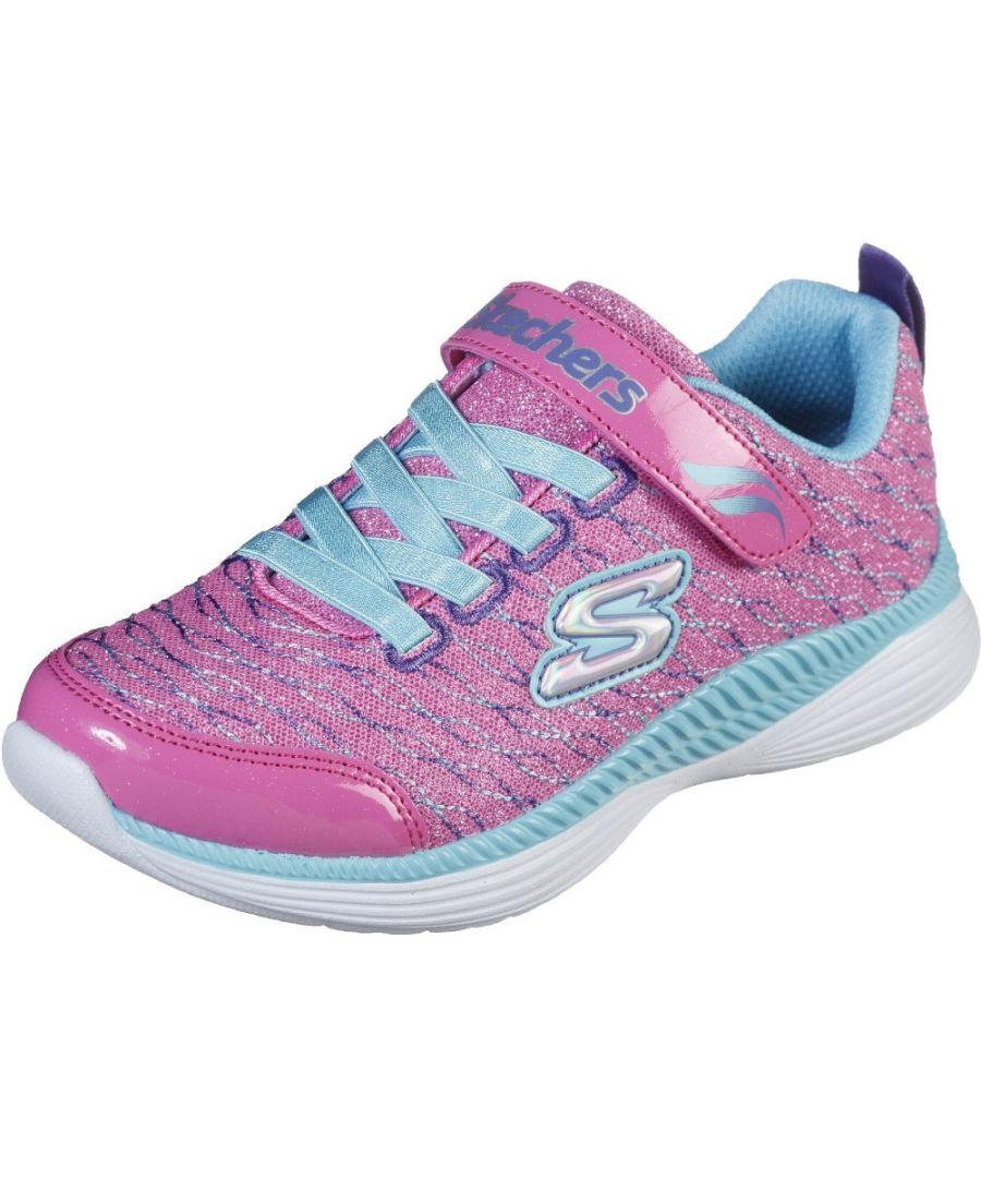 Image for Skechers Girls Move'N Groove-Sparkle Spinner Trainers Shoes