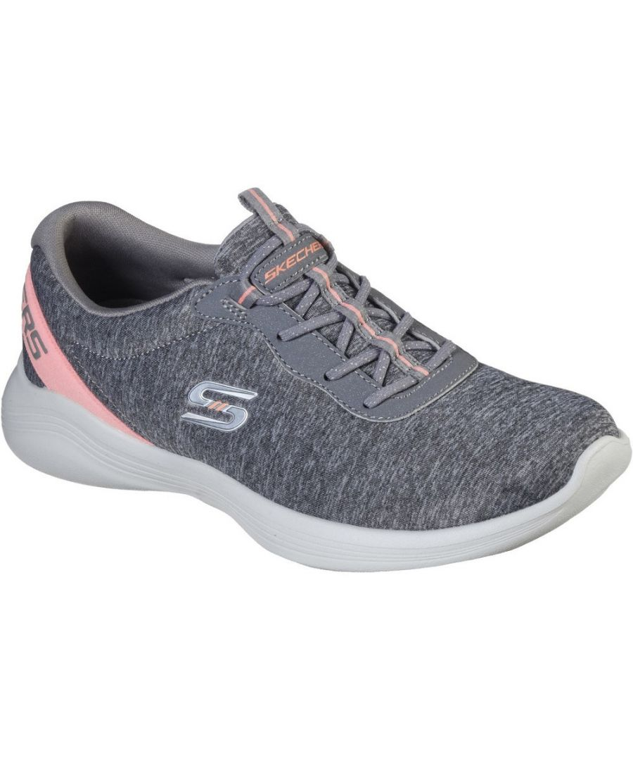 Image for Skechers Womens Envy Misstep Durable Slip On Sports Trainers