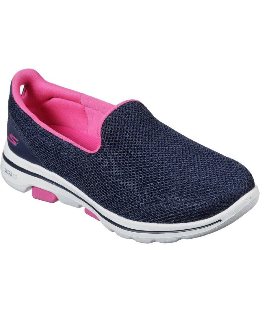 Image for Skechers Womens Gowalk 5 Fantasy Slip On Running Shoes