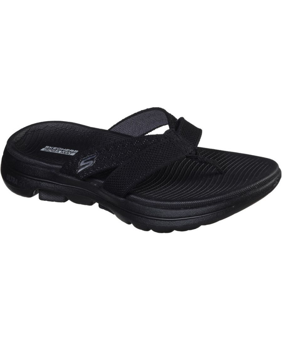 Image for Skechers Womens Gowalk 5 Sun Kiss Lightweight Flip Flops