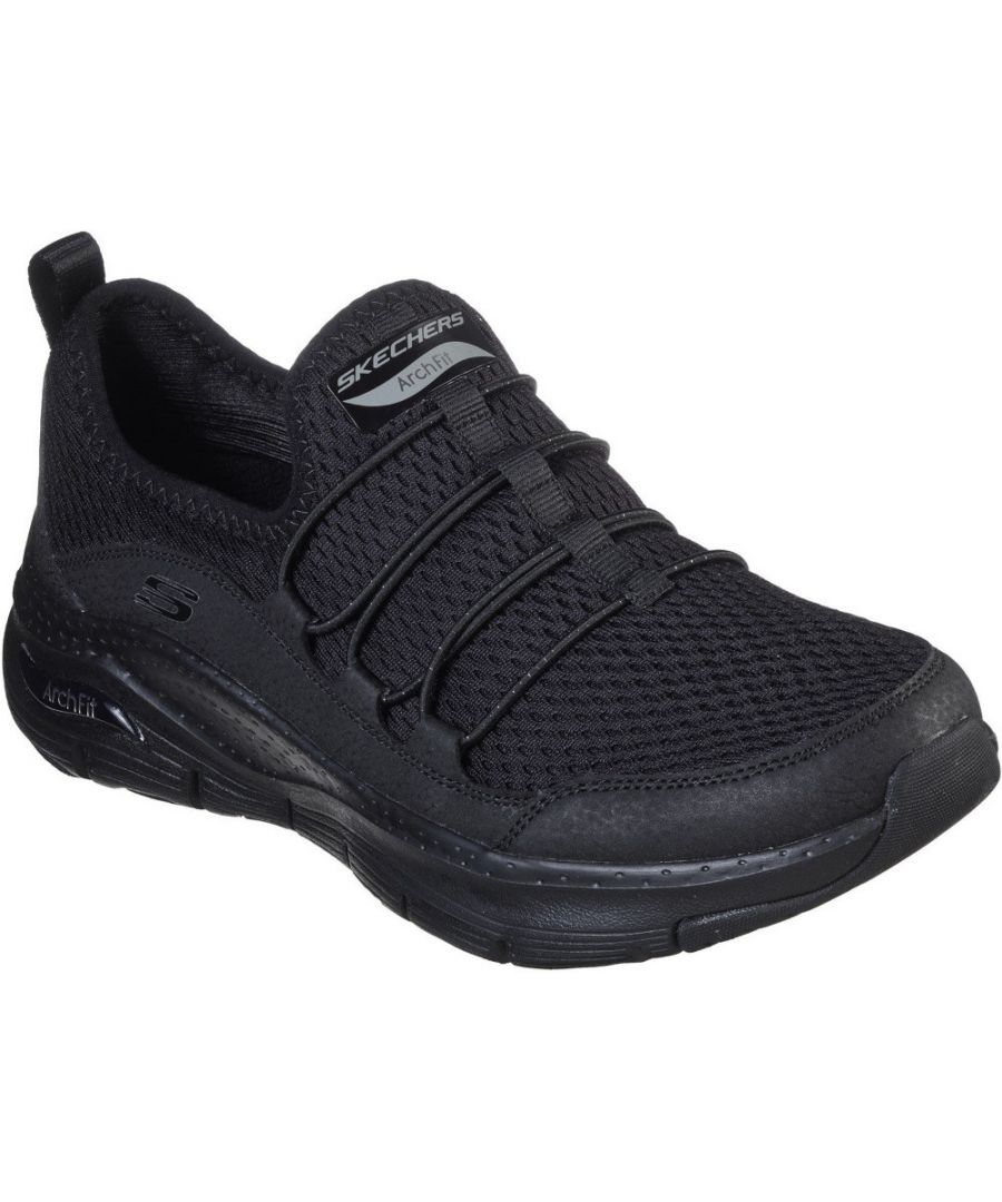 Image for Skechers Womens Arch Fit Lucky Thoughts Slip On Trainers
