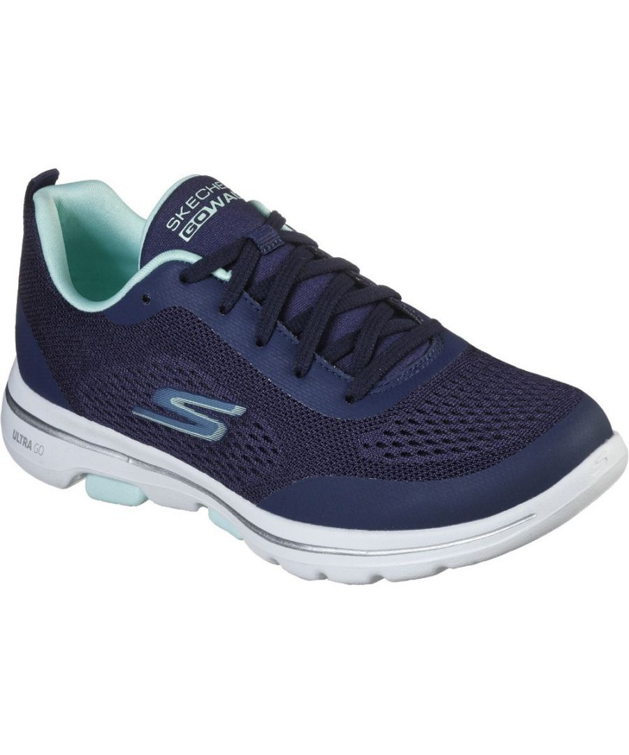 Image for Skechers Womens Gowalk 5 Exquisite Lightweight Trainers