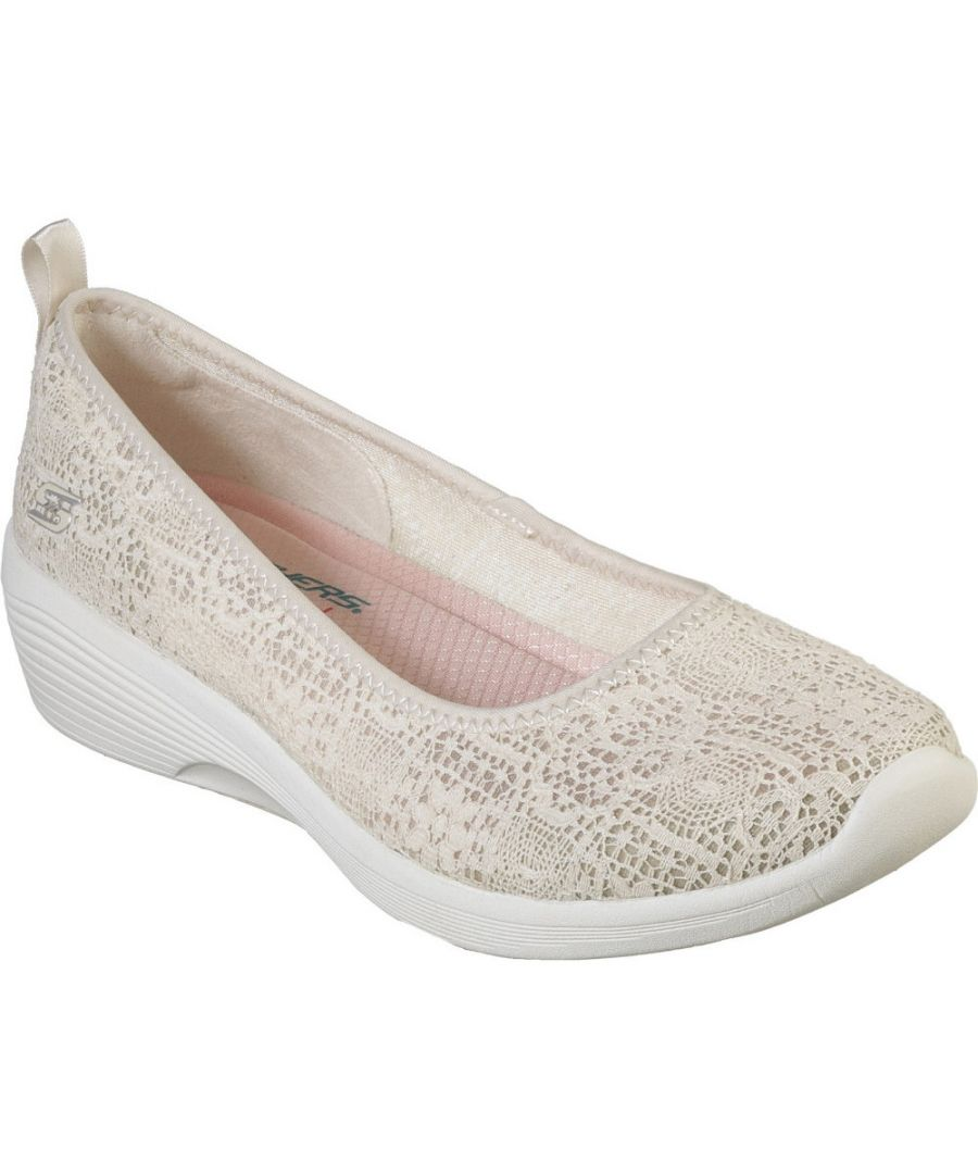 Image for Skechers Womens Arya Airy Days Slip On Sporty Casual Shoes