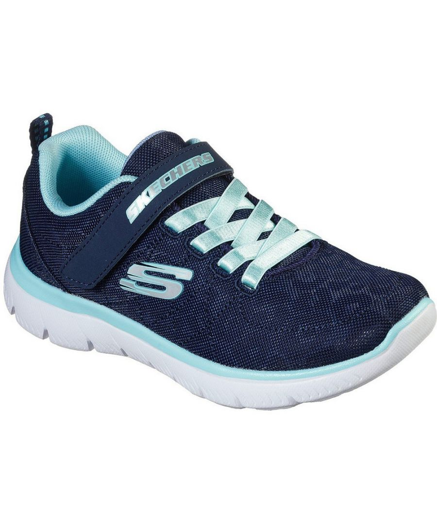 Image for Skechers Girls Summits Worth Wild Sports Trainers