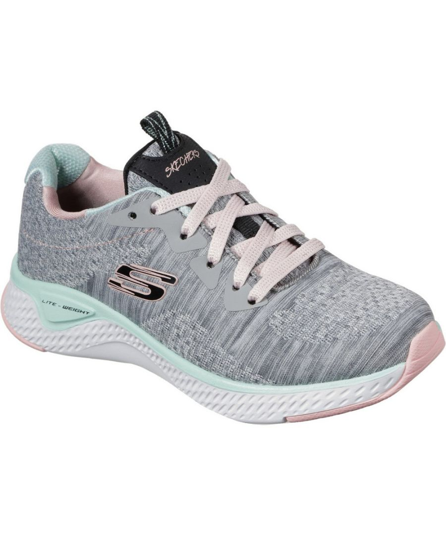 Image for Skechers Girls Solar Fuse Brisk Escape Sports Trainers