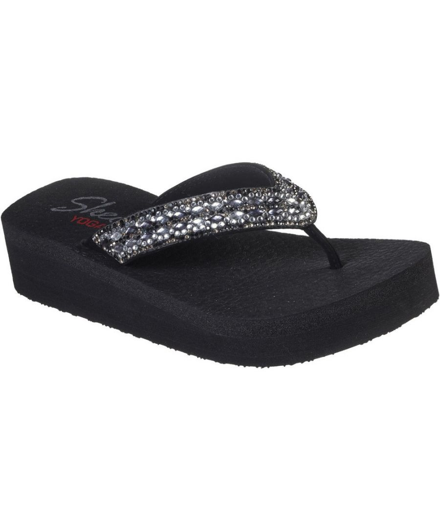Image for Skechers Womens Vinyasa Glory Day Platform Flip Flops