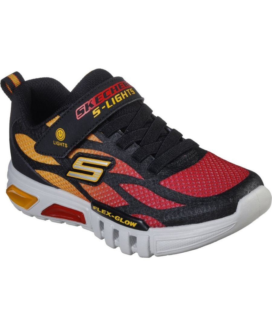 Image for Skechers Boys S Lights Flex Glow Dezlo Sports Trainers