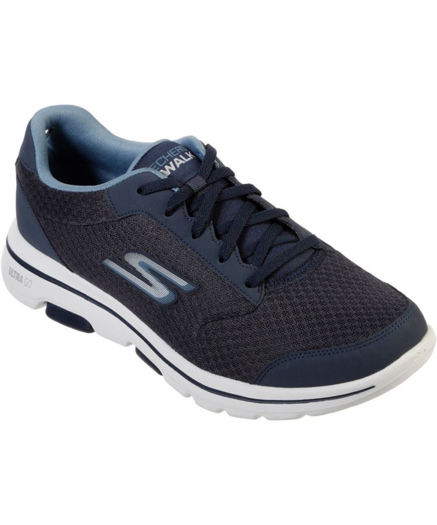 Image for Skechers Mens Gowalk 5 Qualify Lightweight Sports Trainers