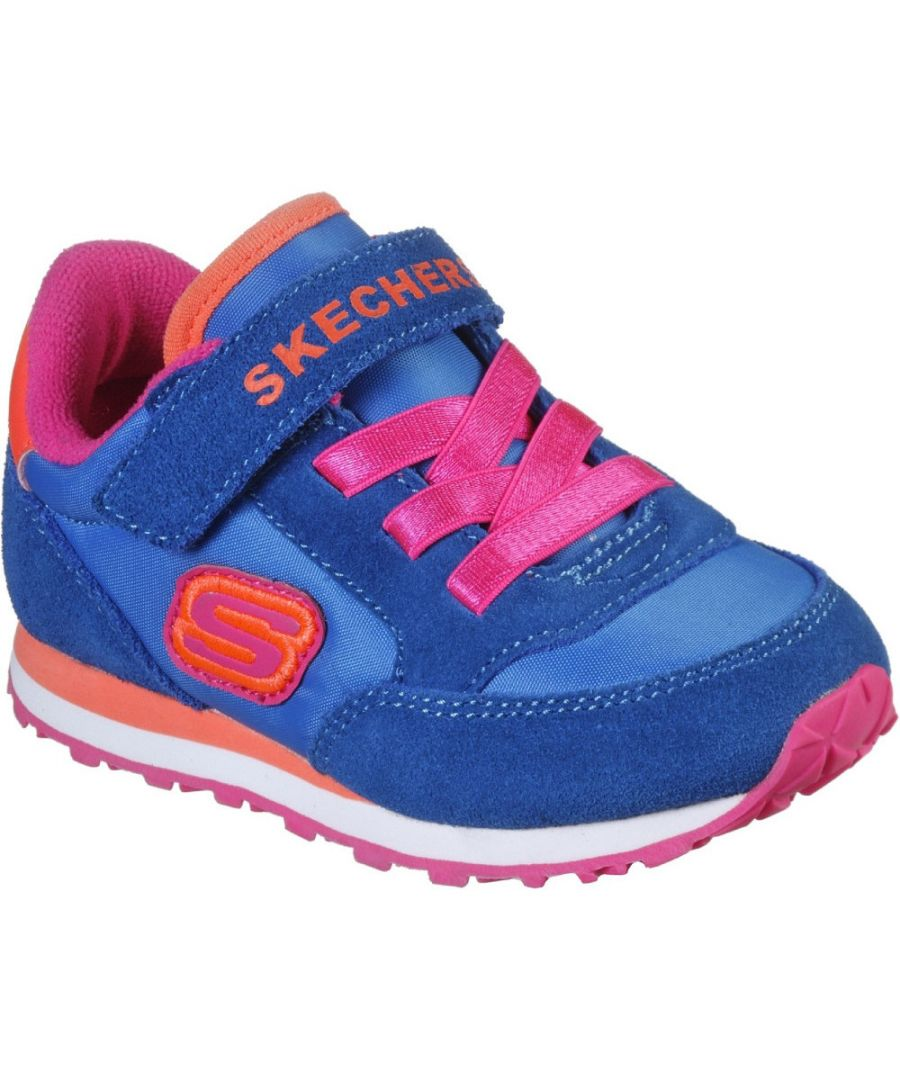 Image for Skechers Girls Retro Sneaks Cushioned Sports Trainers