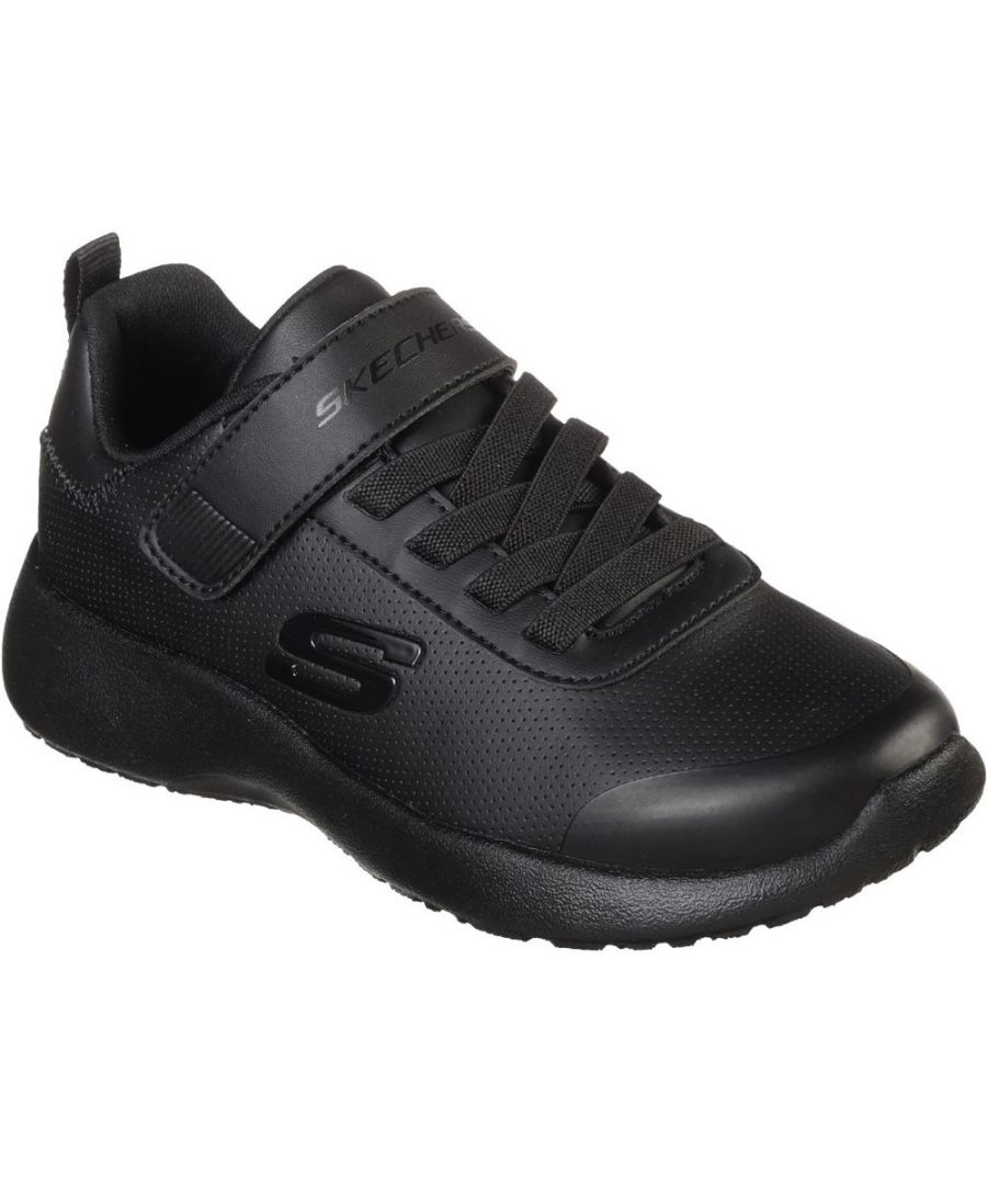 Image for Skechers Boys Dynamight Day School Slip On Sports Trainers