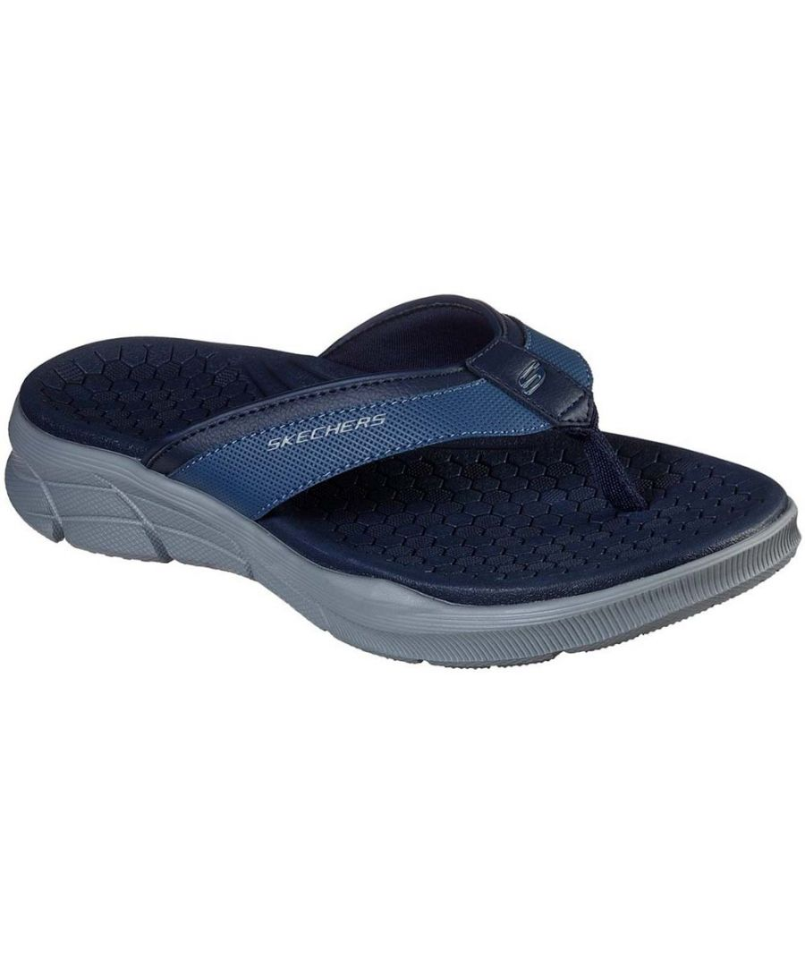Image for Skechers Mens Equalizer 4.0 Serasa Slip On Flip Flop Sandals