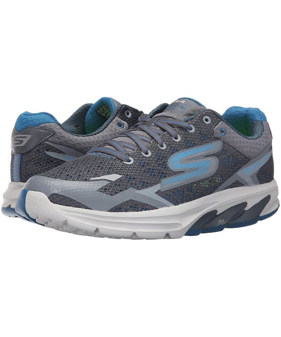 Image for Skechers Mens Go Meb Strada 2 Breathable Cushioned Track Running Shoes
