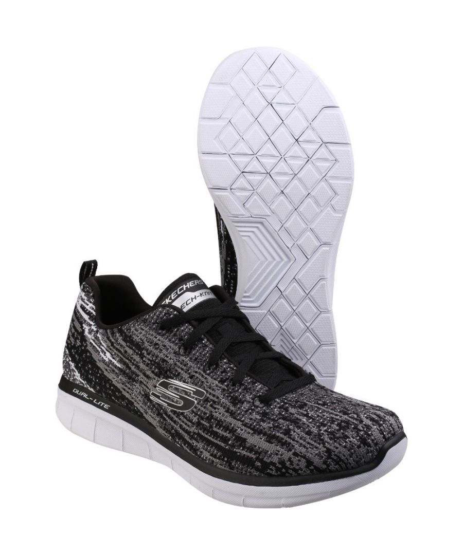 Image for Skechers Womens/Ladies Synergy 2.0 Side Step Leather Trainers Shoes