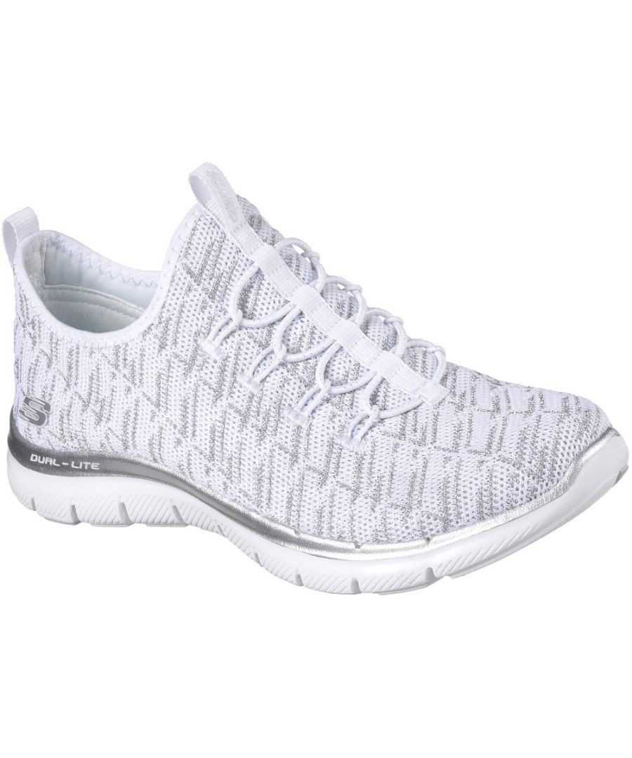 Image for Skechers Womens/Ladies Flex Appeal 2.0 Insights Slip On Trainers Shoes
