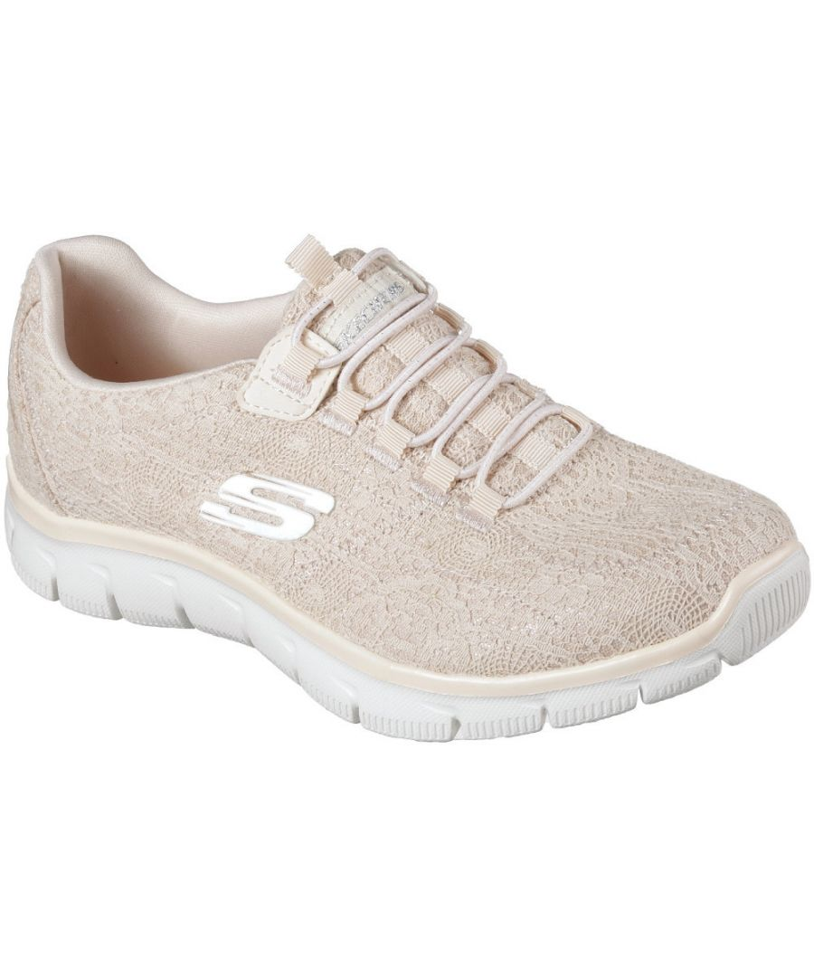 Image for Skechers Womens/Ladies Empire Spring Glow Memory Foam Trainers Shoes
