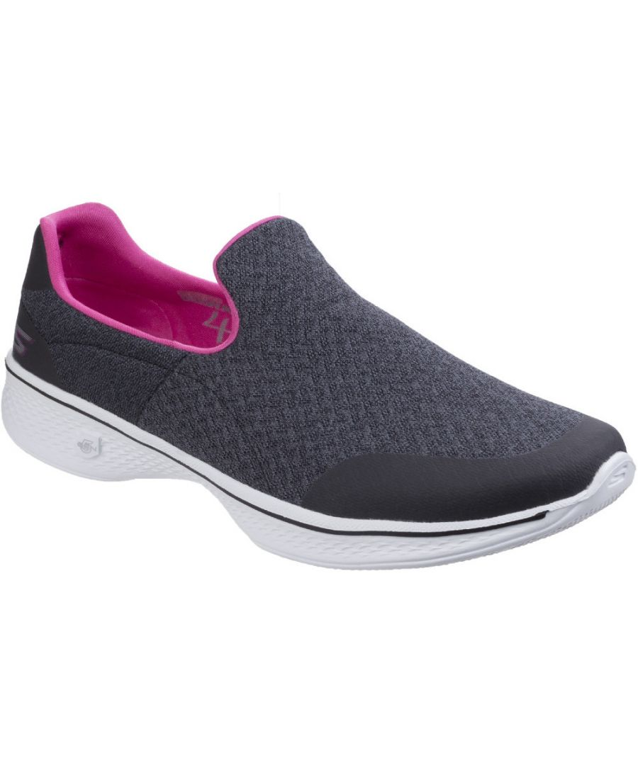 Image for Skechers Womens/Ladies Go Walk 4 Diffuse Summer Loafers