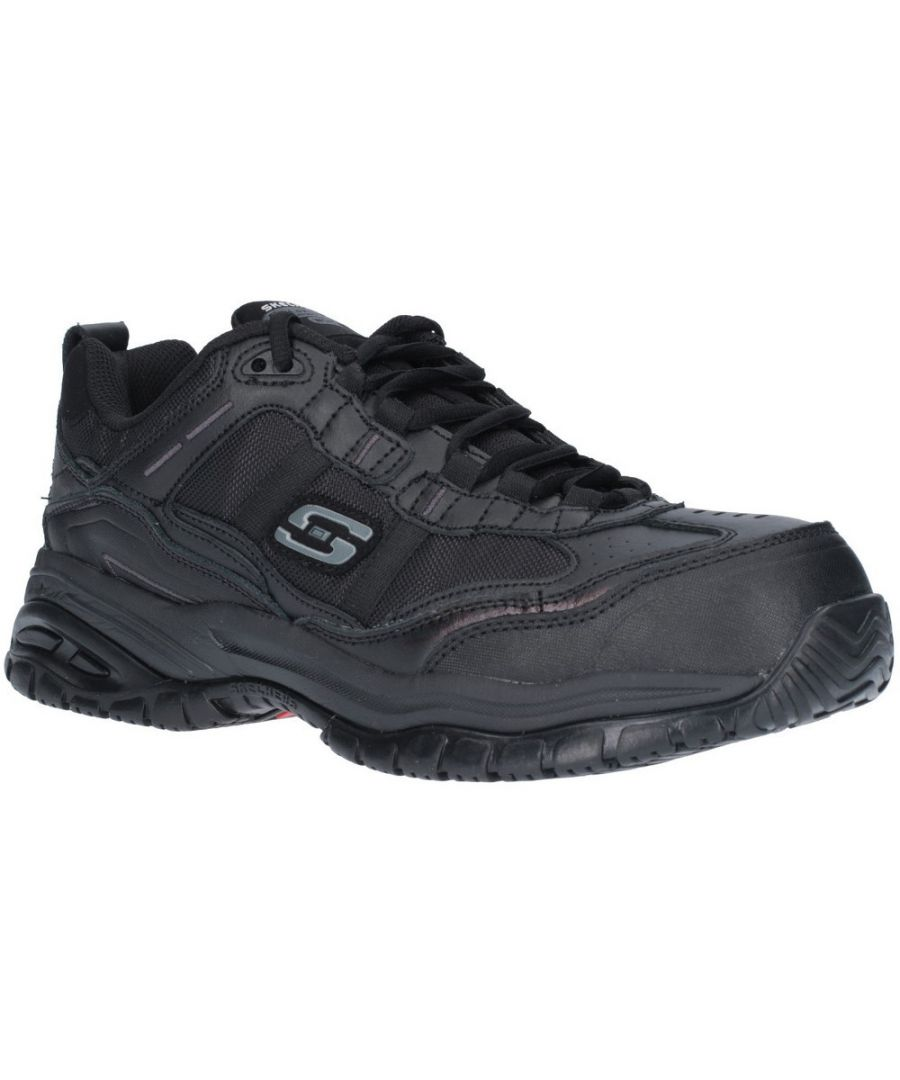 Image for Skechers Mens Soft Stride Relaxed Fit Laced Safety Shoes