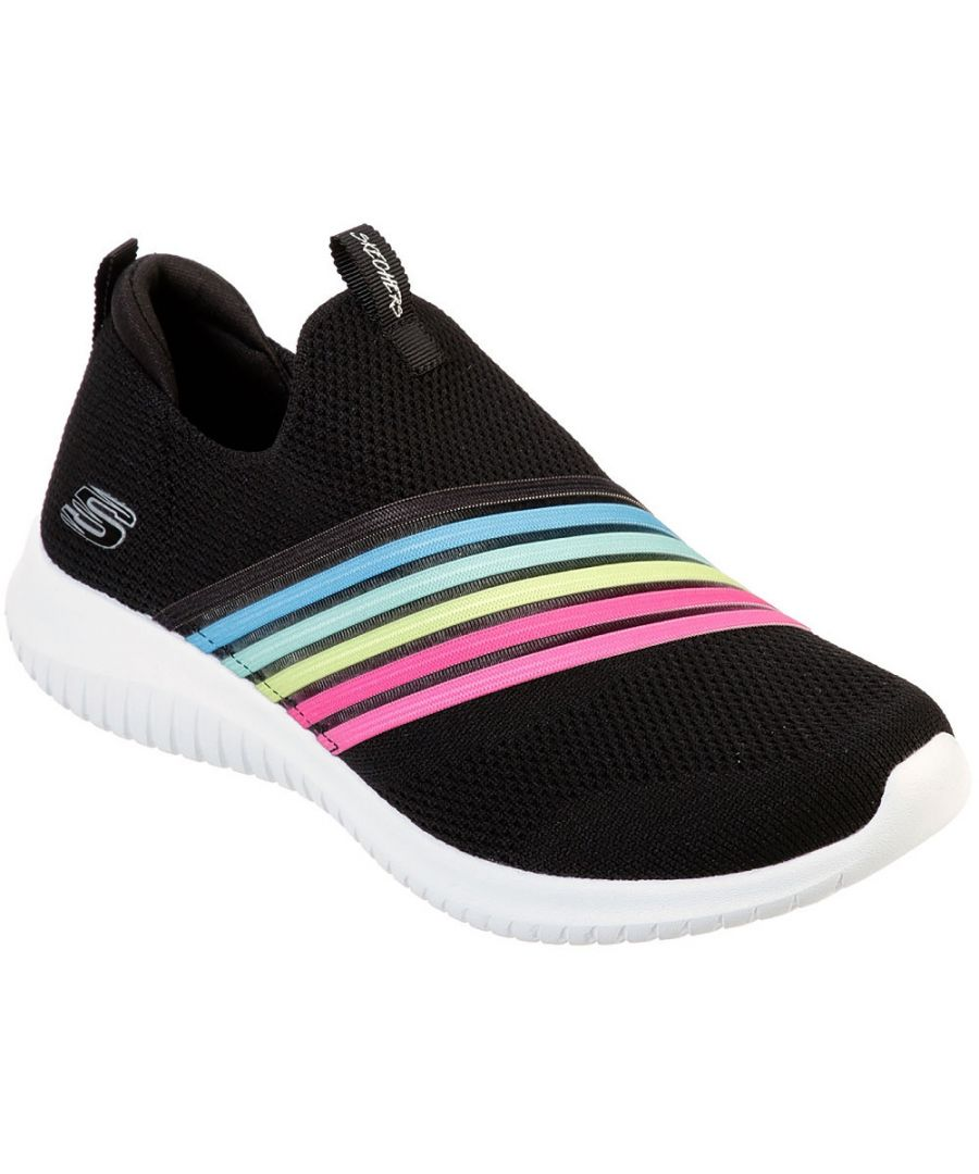 Image for Skechers Womens Ultra Flex Brightful Day Slip On Trainers