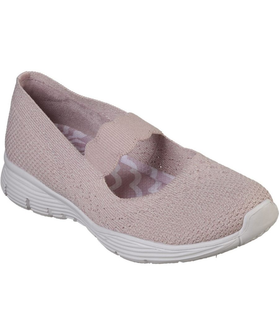 Image for Skechers Womens Seager Power Hitter Woven Knit Casual Shoes
