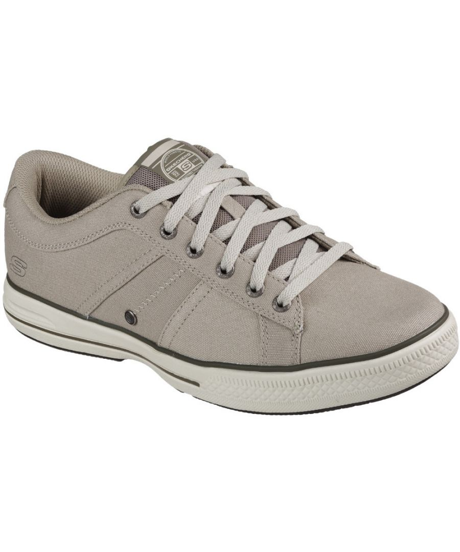 Image for Skechers Mens Arcade Fulrow Lace Up Canvas Casual Pumps
