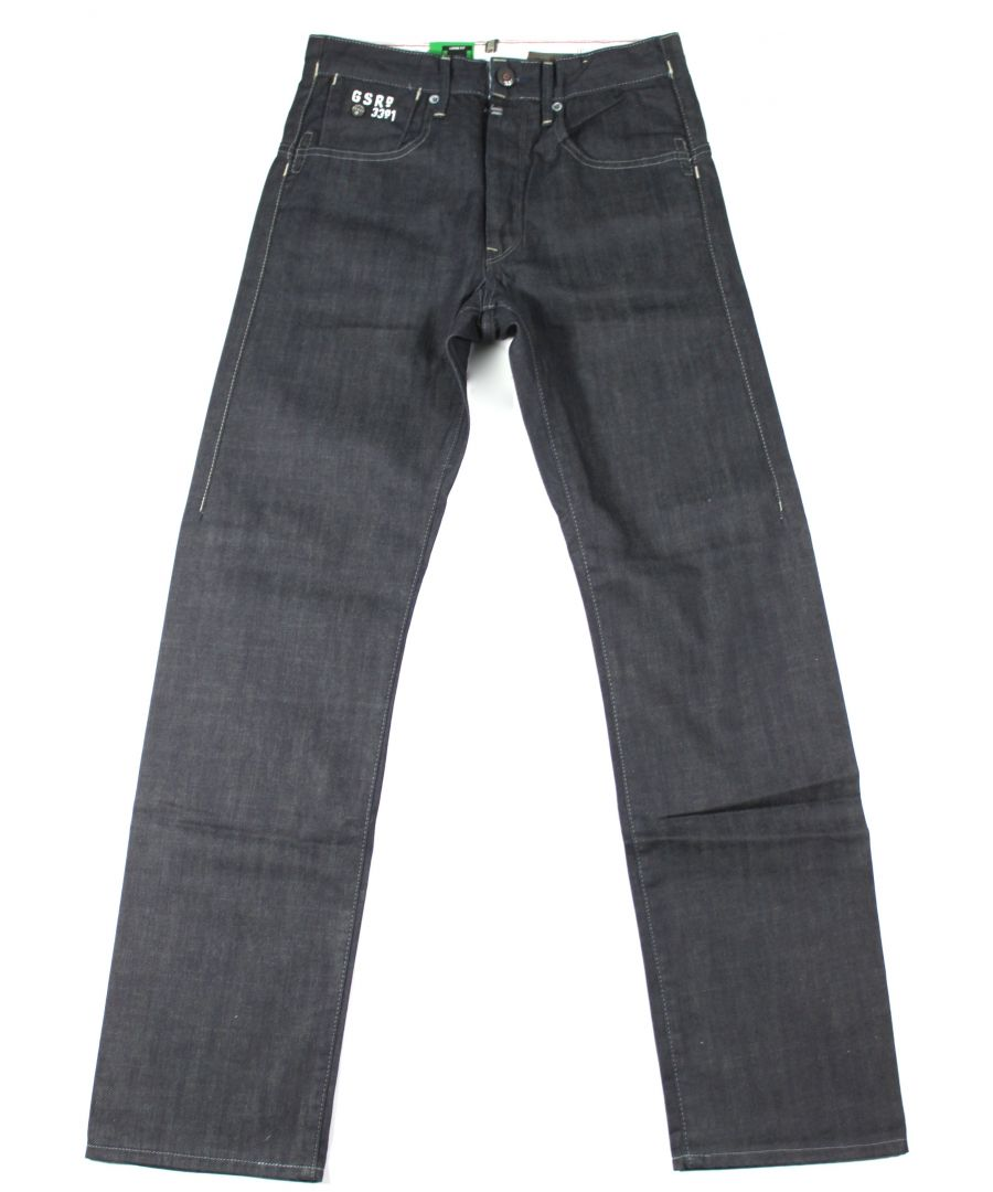Image for G-Star Structor Loose Dark Blue Brooklyn Denim Jeans