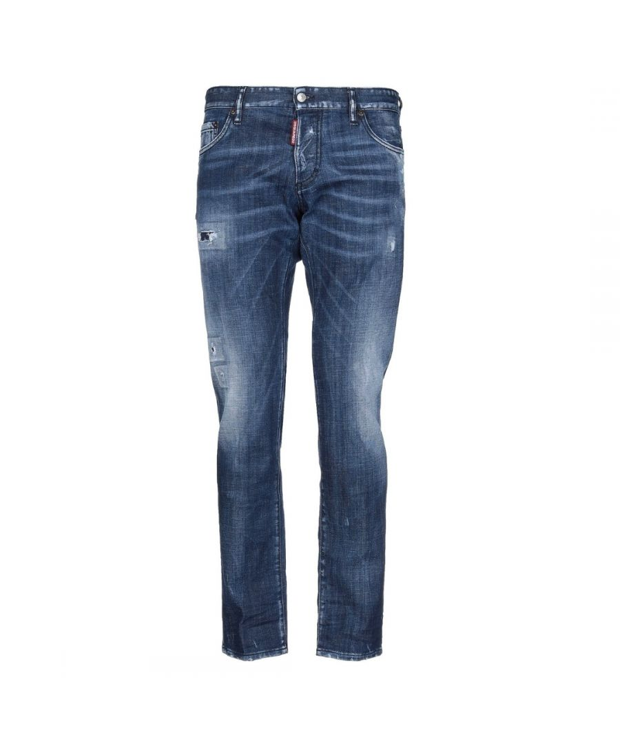 Image for Dsquared2 Slim Jean Distressed Jeans