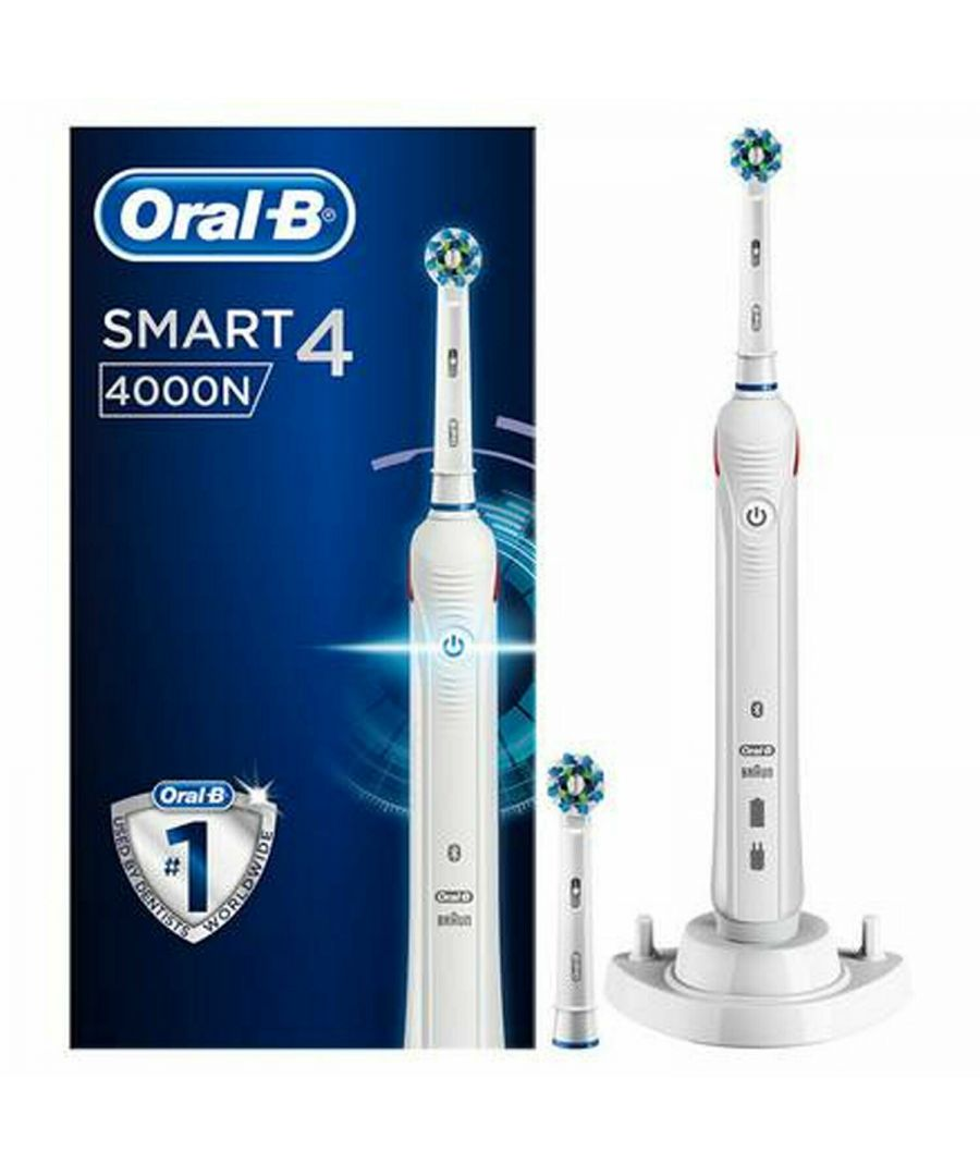 Image for Oral-B Smart Series 4000 CrossAction Electric Toothbrush White