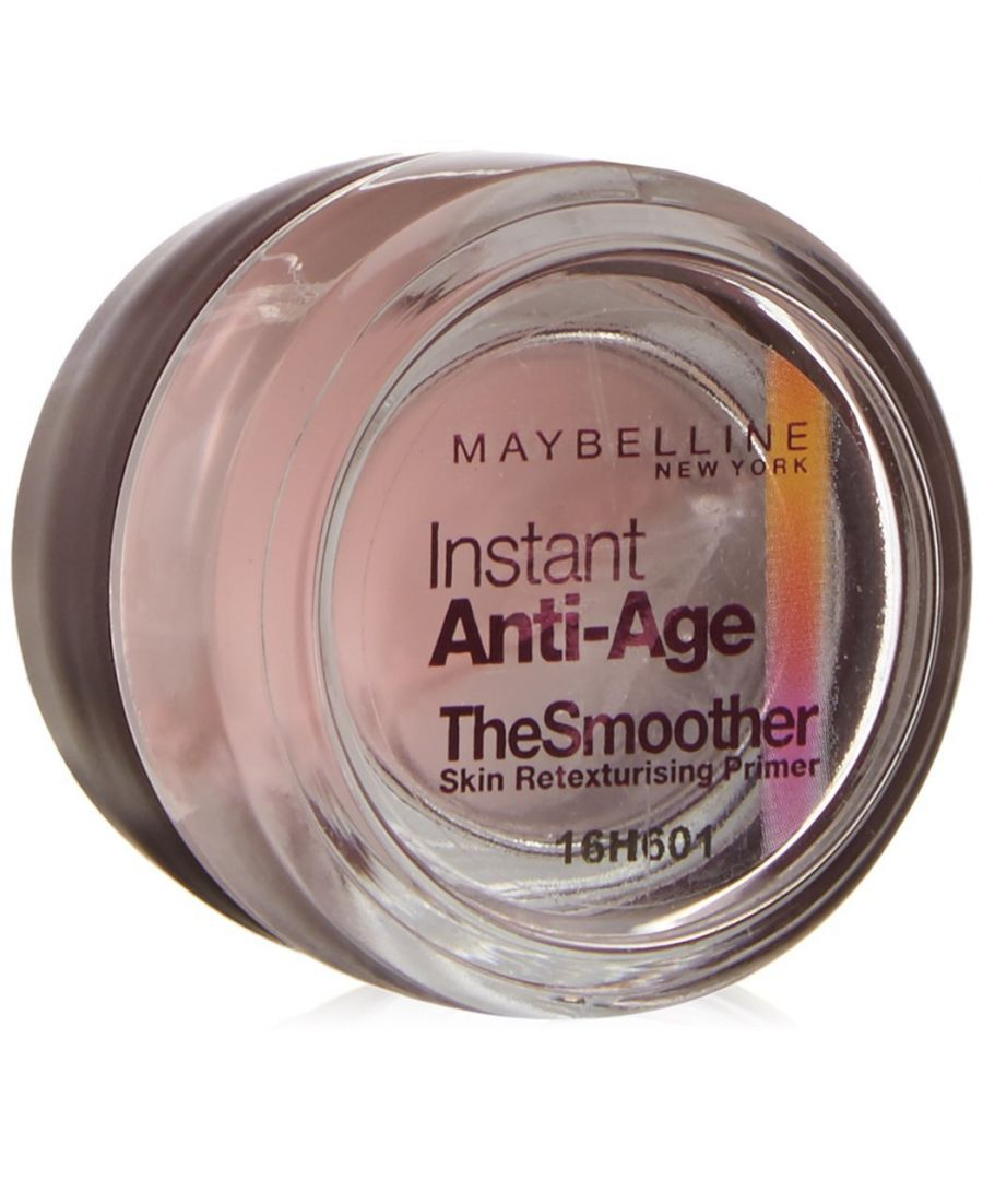 Image for Maybelline Instant Anti-Age The Smoother Retexturising Skin Primer 7ml Sealed