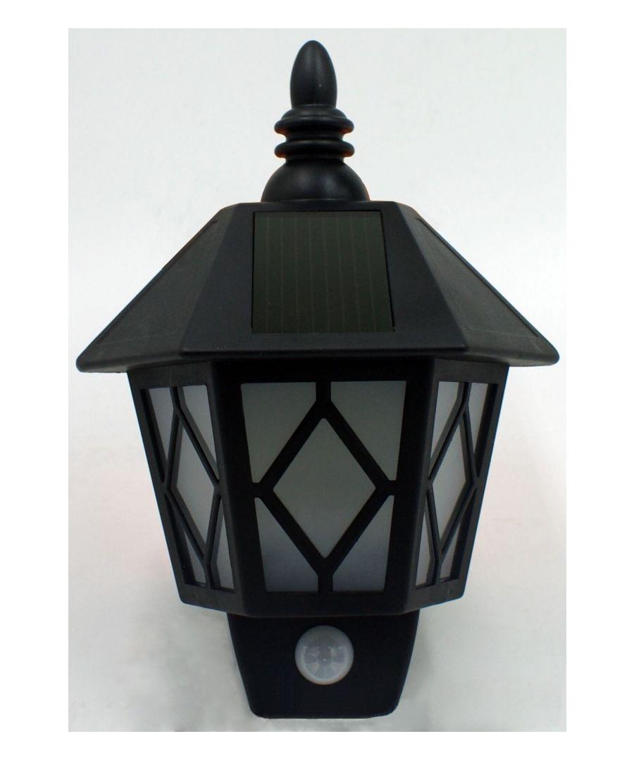 Image for Solar Wall lantern with Motion Sensor 0.5W- (BB-SL173)